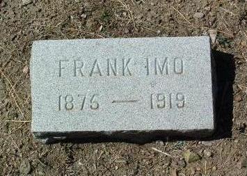 IMO, FRANK - Yavapai County, Arizona | FRANK IMO - Arizona Gravestone Photos