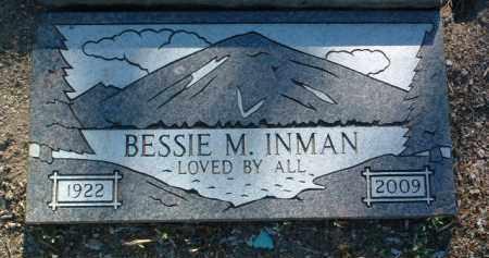 GUTHRIE INMAN, BESSIE M. - Yavapai County, Arizona | BESSIE M. GUTHRIE INMAN - Arizona Gravestone Photos