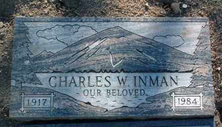 INMAN, CHARLES WILLIAM - Yavapai County, Arizona | CHARLES WILLIAM INMAN - Arizona Gravestone Photos