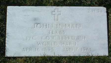 INMAN, JOHN - Yavapai County, Arizona | JOHN INMAN - Arizona Gravestone Photos