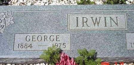 IRWIN, GEORGE - Yavapai County, Arizona   GEORGE IRWIN - Arizona Gravestone Photos