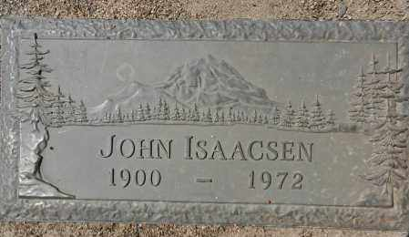ISAACSEN, JOHN - Yavapai County, Arizona | JOHN ISAACSEN - Arizona Gravestone Photos