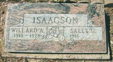 ISAACSON, SARAH OPHELIA (SALLY) - Yavapai County, Arizona | SARAH OPHELIA (SALLY) ISAACSON - Arizona Gravestone Photos
