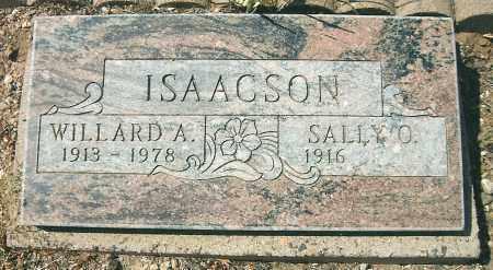 ISAACSON, WILLARD ANDREW - Yavapai County, Arizona | WILLARD ANDREW ISAACSON - Arizona Gravestone Photos
