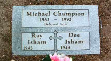ISHAM, RAY - Yavapai County, Arizona   RAY ISHAM - Arizona Gravestone Photos