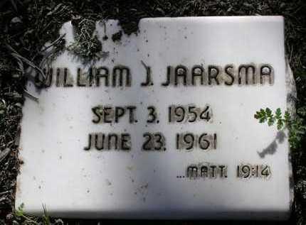 JAARSMA, WILLIAM J. - Yavapai County, Arizona   WILLIAM J. JAARSMA - Arizona Gravestone Photos