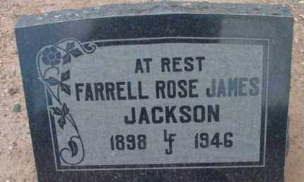 JACKSON, FARRELL ROSE - Yavapai County, Arizona | FARRELL ROSE JACKSON - Arizona Gravestone Photos