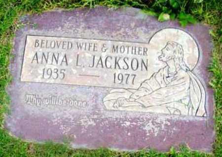 JACKSON, ANNA L. - Yavapai County, Arizona   ANNA L. JACKSON - Arizona Gravestone Photos