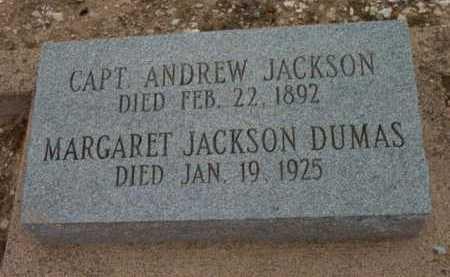 JACKSON, ANDREW  (CAPT.) - Yavapai County, Arizona | ANDREW  (CAPT.) JACKSON - Arizona Gravestone Photos