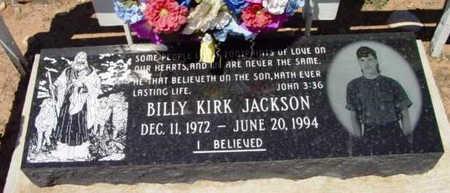 JACKSON, BILLY KIRK - Yavapai County, Arizona   BILLY KIRK JACKSON - Arizona Gravestone Photos