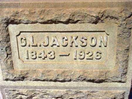 JACKSON, GEORGE L. - Yavapai County, Arizona | GEORGE L. JACKSON - Arizona Gravestone Photos
