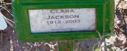 JACKSON, CLARA - Yavapai County, Arizona | CLARA JACKSON - Arizona Gravestone Photos