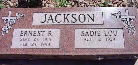 JACKSON, ERNEST RODMAN - Yavapai County, Arizona   ERNEST RODMAN JACKSON - Arizona Gravestone Photos