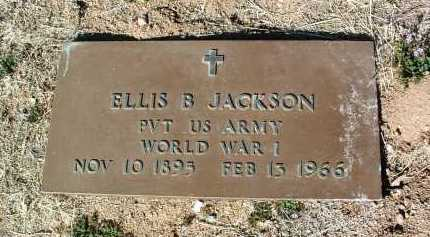 JACKSON, ELLIS BENSON - Yavapai County, Arizona | ELLIS BENSON JACKSON - Arizona Gravestone Photos