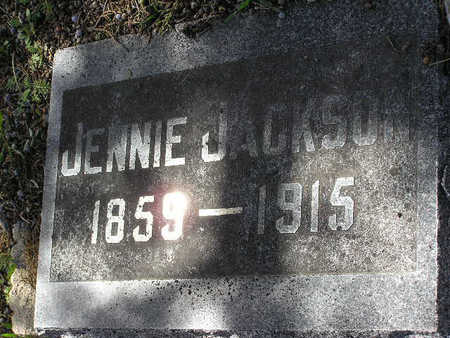 JACKSON, JENNIE - Yavapai County, Arizona | JENNIE JACKSON - Arizona Gravestone Photos