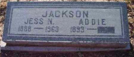 JACKSON, JESS N. - Yavapai County, Arizona | JESS N. JACKSON - Arizona Gravestone Photos