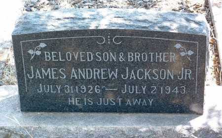 JACKSON, JAMES ANDREW - Yavapai County, Arizona | JAMES ANDREW JACKSON - Arizona Gravestone Photos