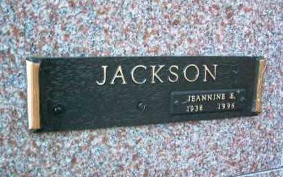 JACKSON, JEANNINE ELIZABETH - Yavapai County, Arizona | JEANNINE ELIZABETH JACKSON - Arizona Gravestone Photos