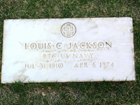 JACKSON, LOUIS CARTER - Yavapai County, Arizona | LOUIS CARTER JACKSON - Arizona Gravestone Photos