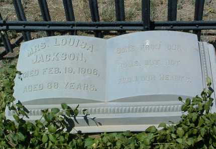 JACKSON, LOUISA - Yavapai County, Arizona | LOUISA JACKSON - Arizona Gravestone Photos