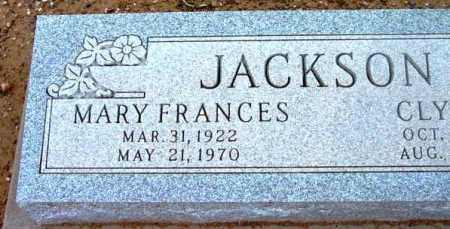 JACKSON, MARY FRANCES - Yavapai County, Arizona | MARY FRANCES JACKSON - Arizona Gravestone Photos
