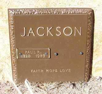 JACKSON, PAUL RICHARD - Yavapai County, Arizona   PAUL RICHARD JACKSON - Arizona Gravestone Photos