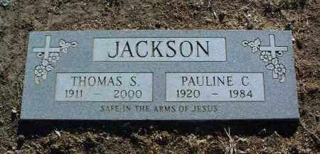 JACKSON, THOMAS SMITH - Yavapai County, Arizona | THOMAS SMITH JACKSON - Arizona Gravestone Photos