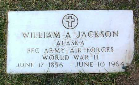 JACKSON, WILLIAM A. - Yavapai County, Arizona | WILLIAM A. JACKSON - Arizona Gravestone Photos