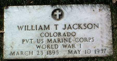 JACKSON, WILLIAM T. - Yavapai County, Arizona | WILLIAM T. JACKSON - Arizona Gravestone Photos