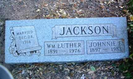 JACKSON, WILLIAM LUTHER - Yavapai County, Arizona | WILLIAM LUTHER JACKSON - Arizona Gravestone Photos