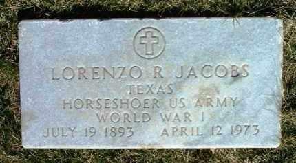 JACOBS, LORENZO ROWLEY - Yavapai County, Arizona | LORENZO ROWLEY JACOBS - Arizona Gravestone Photos
