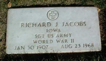 JACOBS, RICHARD JOHN - Yavapai County, Arizona | RICHARD JOHN JACOBS - Arizona Gravestone Photos