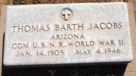 JACOBS, THOMAS BARTH - Yavapai County, Arizona | THOMAS BARTH JACOBS - Arizona Gravestone Photos