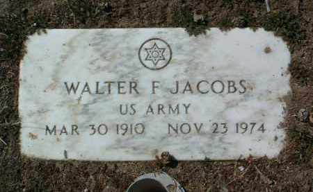 JACOBS, WALTER F. - Yavapai County, Arizona | WALTER F. JACOBS - Arizona Gravestone Photos