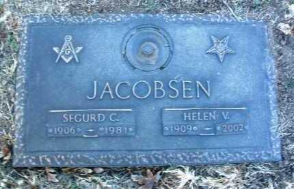 VITHEN JACOBSON, HELEN A. - Yavapai County, Arizona | HELEN A. VITHEN JACOBSON - Arizona Gravestone Photos