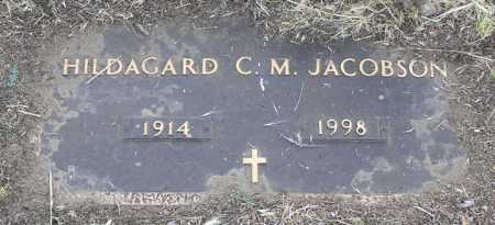 JACOBSON, HILDAGARD C. M. - Yavapai County, Arizona | HILDAGARD C. M. JACOBSON - Arizona Gravestone Photos