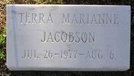 JACOBSON, TERRA MARIANNE - Yavapai County, Arizona | TERRA MARIANNE JACOBSON - Arizona Gravestone Photos