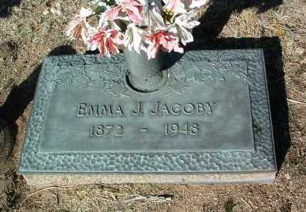 DREW JACOBY, EMMA J. - Yavapai County, Arizona | EMMA J. DREW JACOBY - Arizona Gravestone Photos