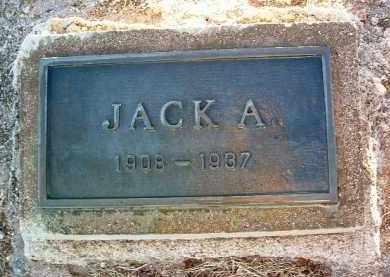 JAEGER, JOHN A. (JACK) - Yavapai County, Arizona | JOHN A. (JACK) JAEGER - Arizona Gravestone Photos