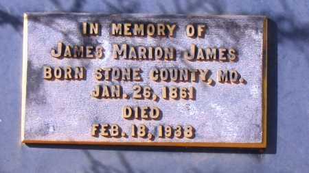 JAMES, JAMES MARION - Yavapai County, Arizona   JAMES MARION JAMES - Arizona Gravestone Photos