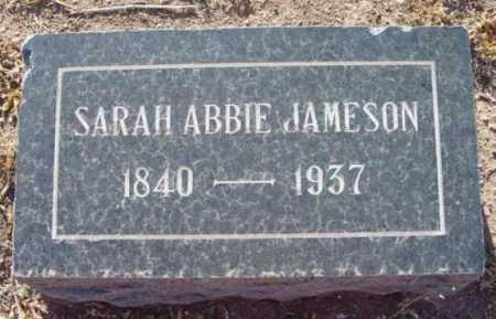 JAMESON, SARAH ABBIE - Yavapai County, Arizona | SARAH ABBIE JAMESON - Arizona Gravestone Photos