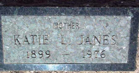 JANES, KATIE L. - Yavapai County, Arizona   KATIE L. JANES - Arizona Gravestone Photos