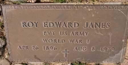 JANES, ROY EDWARD - Yavapai County, Arizona   ROY EDWARD JANES - Arizona Gravestone Photos