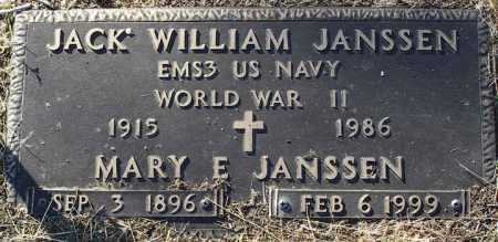 JANSSEN, MARY E. - Yavapai County, Arizona | MARY E. JANSSEN - Arizona Gravestone Photos