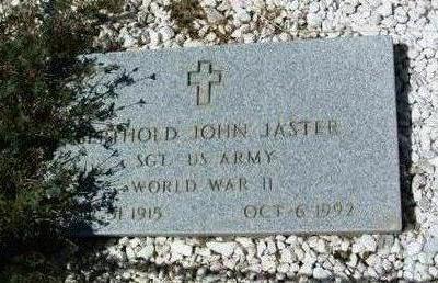 JASTER, BERTHOLD JOHN - Yavapai County, Arizona | BERTHOLD JOHN JASTER - Arizona Gravestone Photos