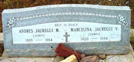 JAUREGUI, ANDRES M. - Yavapai County, Arizona | ANDRES M. JAUREGUI - Arizona Gravestone Photos
