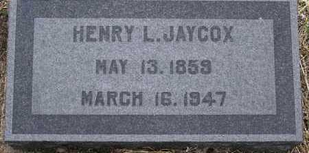 JAYCOX, HENRY LAFAYETTE - Yavapai County, Arizona | HENRY LAFAYETTE JAYCOX - Arizona Gravestone Photos