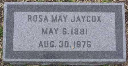 JAYCOX, ROSA MAY - Yavapai County, Arizona | ROSA MAY JAYCOX - Arizona Gravestone Photos