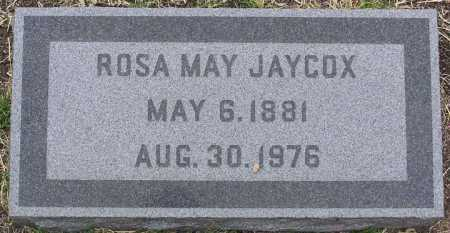 JAYCOX, ROSA MAY - Yavapai County, Arizona | ROSA MAY JAYCOX - Arizona Gravestone Photos