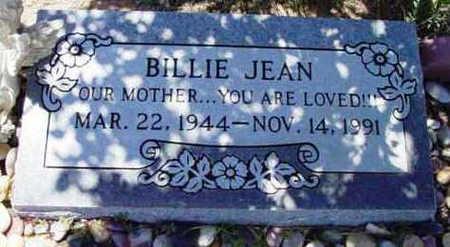 SNYDER, BILLIE JEAN - Yavapai County, Arizona | BILLIE JEAN SNYDER - Arizona Gravestone Photos